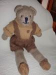 ours en laine tricoter